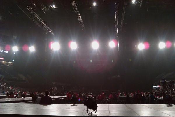 stage empty   Super Junior Insider